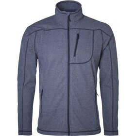 North Bend Aspect Fleecejacke Herren peacoat blue